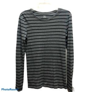 GAP Supersoft long sleeved stripe sweater shirt M